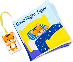 Baby Cloth Book | Interactive Activity Book for Newborn/Infant / 4 Year Old | Fun Educational Baby Gift for Baby Showers Vibrant Soft Book