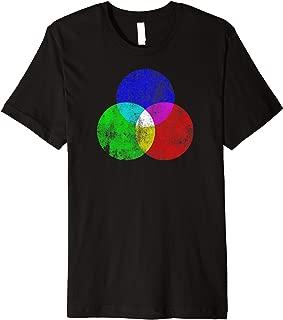 Color Wheel T-shirt Spectrum Artist Symbol Design RGB RGBW