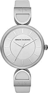 AIX Women's Three-Hand White Leather Watch AX5325