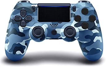 ADHLEK PS-4 Wireless Controller,with Dual Vibration Camo Game Joystick,Compatible with Playstation 4/Slim/Pro Console,with...