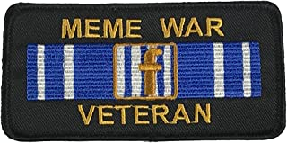 MEME WAR VETERAN PATCH - Color - Veteran Owned Business.