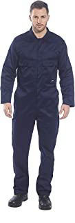 Portwest Regular Fit Euro Work Coverall Navy, 5X -Large