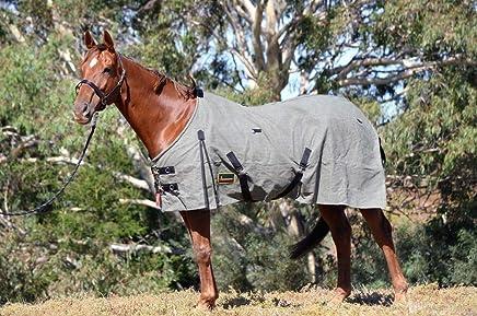 "RUMANI 20oz Superior Waterproof Canvas Lined Horse Rug 4'6"" - 7'0"""