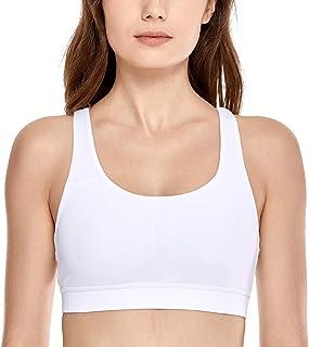 9e5e53724f45 Amazon.it: Bianco - Reggiseni sportivi / Intimo sportivo: Abbigliamento