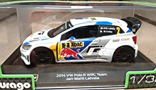 Bburago 1/32 2017 m-Sport Ford Fiesta WRC (sébastien ogier) 18-41051, Color Variado