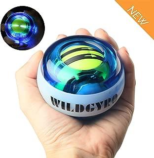 DOTSOG Wrist Trainer Exercises Power Ball Wrist&Forearm Strengthener Essential Auto-Start Spinner Gyro Ball with LED Lights