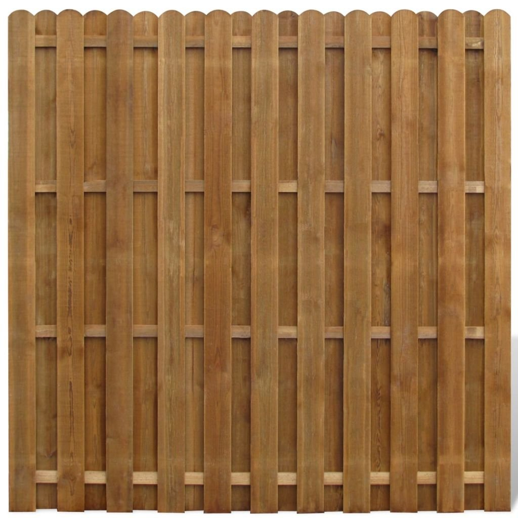 Furnituredeals Malla para cercas Panel de ocultacion Vertical de Madera cercas para Jardin: Amazon.es: Jardín