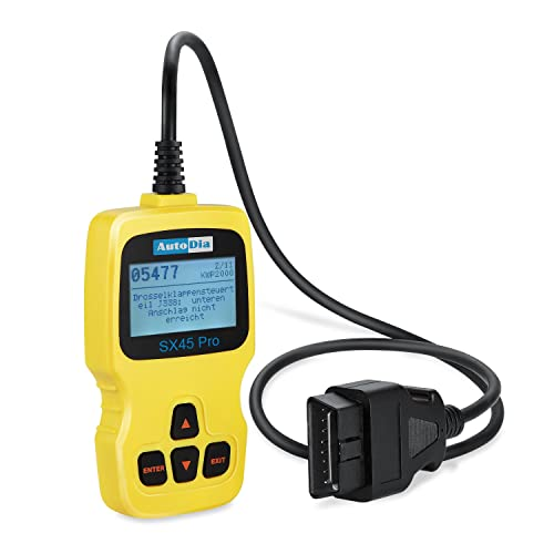 AutoDia SX45 Can Bus Diagnose OBD2 EOBD Handscanner