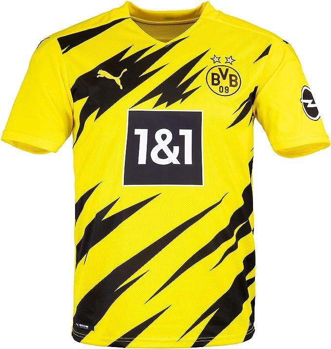 PUMA Maglietta Borussia Dortmund Replica in casa, 20/21, giallo ...