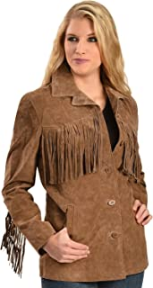 Scully Women's Boar Suede Fringe Jacket - L74-81