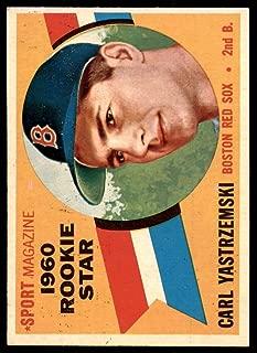1960 Topps #148 Carl Yastrzemski RS Ex-Mint RC Rookie Red Sox