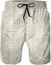Shorts Swim Trunks Quick Dry Beach Shorts with Pockets for Surfing Running Swimming Watershort