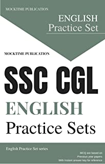 SSC CGL English Model Practice Papers : Mocktime Publication