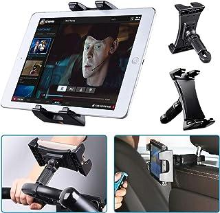 Tendak Motionscykel surfplattehållare, bärbar bil nackstöd löpband träning gym styre mikrofonstativ montering 360° justerb...