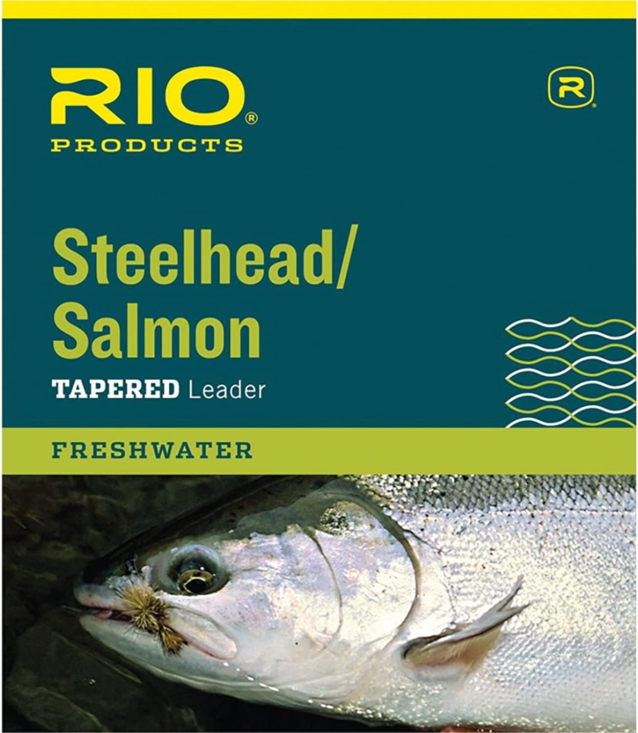 RIO Steelhead Salmon Leader  3Pack One Colour, 7.3kg 2.7m