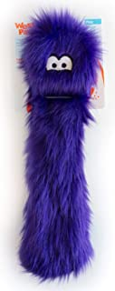 West Paw Judith, Rowdies with HardyTex and Zogoflex, Plush Dog Toy, Purple Fur