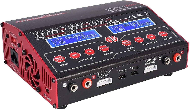 tiendas minoristas Ballylelly Ultra Ultra Ultra Power UP 240 AC Duo 240W 2in1 Batería RC Cochegador de Equilibrio DesCochegador  entrega gratis