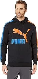 PUMA Mens Classics T7 Logo Hoodie TR