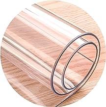 Transparent Pad Floor Protector Mat Durable Scratch Resistant For Home Office Non-slip Mat, Wear-resistant Floor Mat, 28 S...