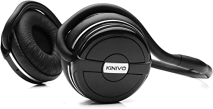 Kinivo BTH240 Bluetooth Headphones (Black, On-Ear, Wireless Music, Hands-Free Calling,..