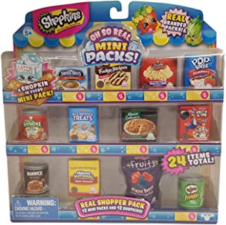 Shopkins Oh So Real - National Brands Real Shopper Pack (Style #1)