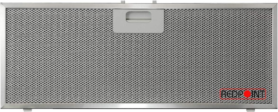 Filtro de aluminio para campanas Elica 458 x 177 x 9 mm