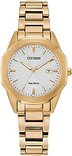 ساعة سيتزن ايكو-درايف كورسو ذهبية للسيدات EW2582-59A