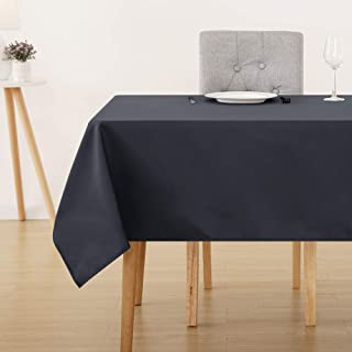 Deconovo Nappe Waterproof pour Table Decoration 150x200cm Gris Foncé