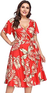 841da28f8 Amazon.es: Rojo - Vestidos / Mujer: Ropa