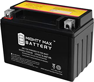 Mighty Max Battery YTX9-BS Replaces Yamaha XJ600S Seca II 92-98 +12V 1Amp Charger Brand Product