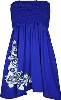 Rimi Hanger Ladies Gather Bandeau Sheering Top Womens Fancy Plus Size Boob Tube Midi Dress S/XL