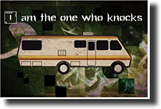 Breaking Bad - I Am The One Who Knocks - NEW TV Quote Poster