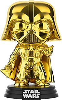 Funko Pop! Star Wars – Darth Vader (oro cromado) Galactic Convention Amazon Exclusive