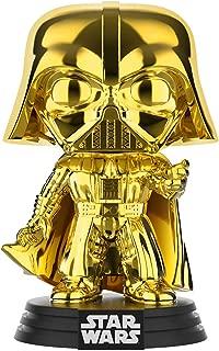 Funko Pop! Star Wars – Darth Vader (oro cromado) Galactic Convention Amazon Exclusive