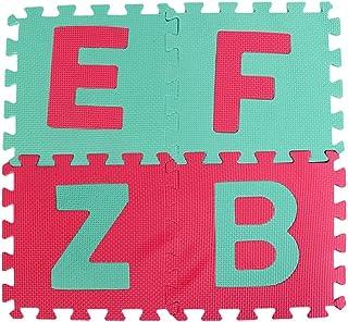 LIMITA - Juego de 36 Piezas con números de Alfabeto, Goma EVA, para habitación de bebé, Rompecabezas de Espuma ABC