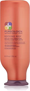 Pureology | Reviving Red Reflective Conditioner | For Red & Copper Color Treated Hair | Sulfate-Free | Vegan | 8.5 oz.