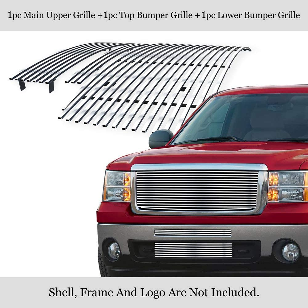 APS Compatible with 2007-2013 GMC Stainless Po 1500 Limited time for free shipping Steel Sierra 55% OFF