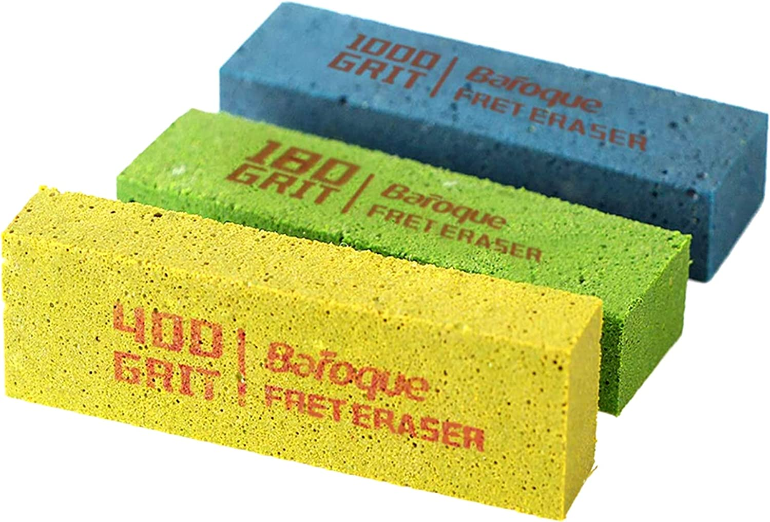 Baroque Fret Erasers 180 400 Guitar Polishi Grits Courier shipping free shipping Max 87% OFF 1000
