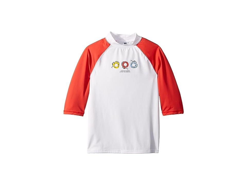 Janie and Jack Short Sleeve Rashguard (Toddler/Little Kids/Big Kids) (Multicolor) Boy