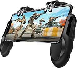 Novatronek Mobile Game Controller, Gamepad with Cooling and Charging Function, PUBG Game Joystick Mobile Game Trigger for ...