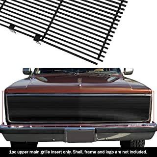 APS Compatible with 1981-1987 Chevy GMC Pickup Suburban Blazer Jimmy Phantom Black Billet Grille Grill C85202H