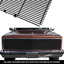 APS Compatible with 1981-1987 Chevy GMC Pickup Suburban Blazer Jimmy Phantom Black Billet Grille Grill S18-H20258C