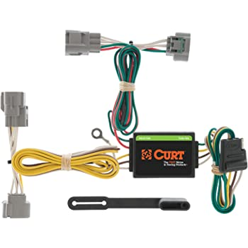 amazon.com: curt 55513 vehicle-side custom 4-pin trailer wiring harness,  select toyota tacoma, t100, hilux: automotive  amazon.com