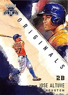 2017 Panini Diamond Kings DK Originals #6 Jose Altuve NM-MT Astros