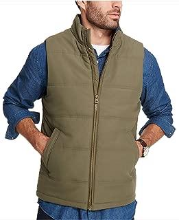 Weatherproof Vintage Men's Quilted Puffer Vest Olive Small