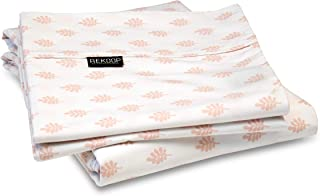 REKOOP Eco-Friendly Sheets, Cotton Rich, Smooth Percale Weave, 4 Piece King, 15