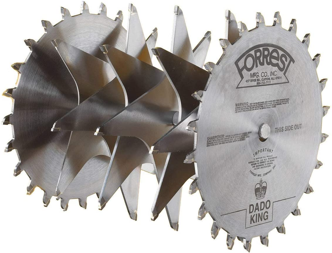 Forrest Limited price sale DK10244G Dado 5 ☆ very popular King 10-Inch 24 Sa Tooth 4 32-Inch 29 Kerf