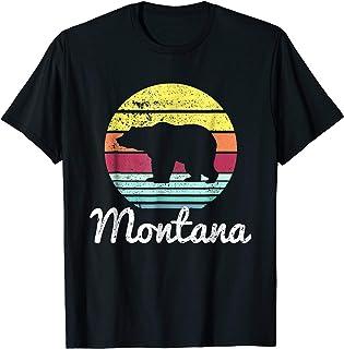 Sponsored Ad - Vintage Retro MT Montana Wildlife Bear Adventure T-shirt