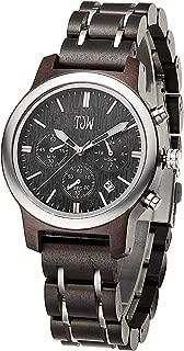 Mens Natural Wooden Watches/Women Wooden Wrist Watches/Handmade Vintage Casual Wrist Watch/Multi-Function Watch