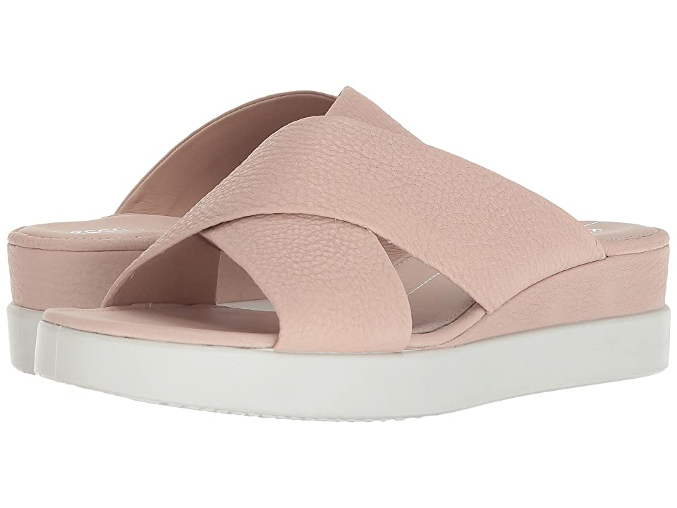 ECCO Touch Slide Sandal (Rose Dust Cow Leather) Women